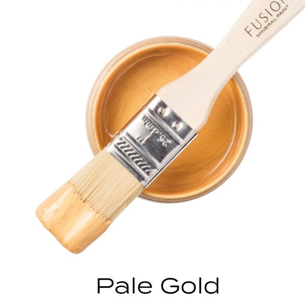 metallic pale gold paint