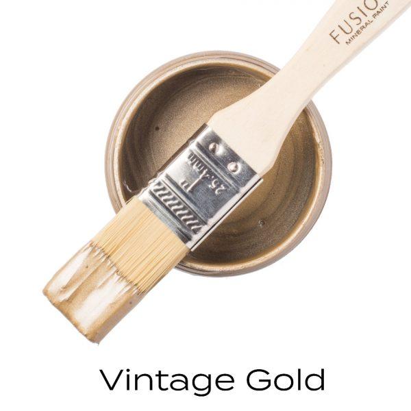 vintage gold metallic paint