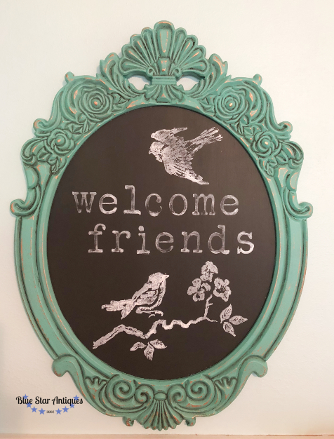 Stampin' Up a Chalkboard