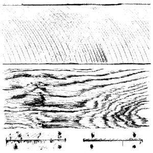 barnwood plank stamp