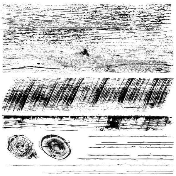 IOD DS Barnwood Planks  B 1 Barnwood Plank Stamp