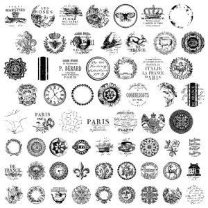 knob topper stamp