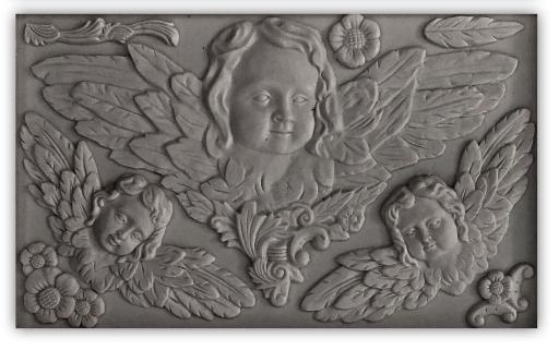 classical cherubs mould
