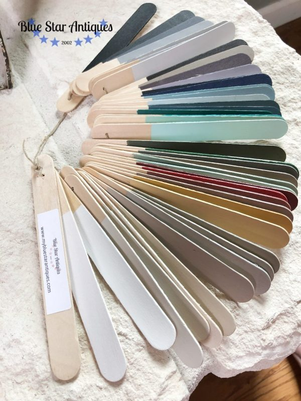 Fusion paint swatches