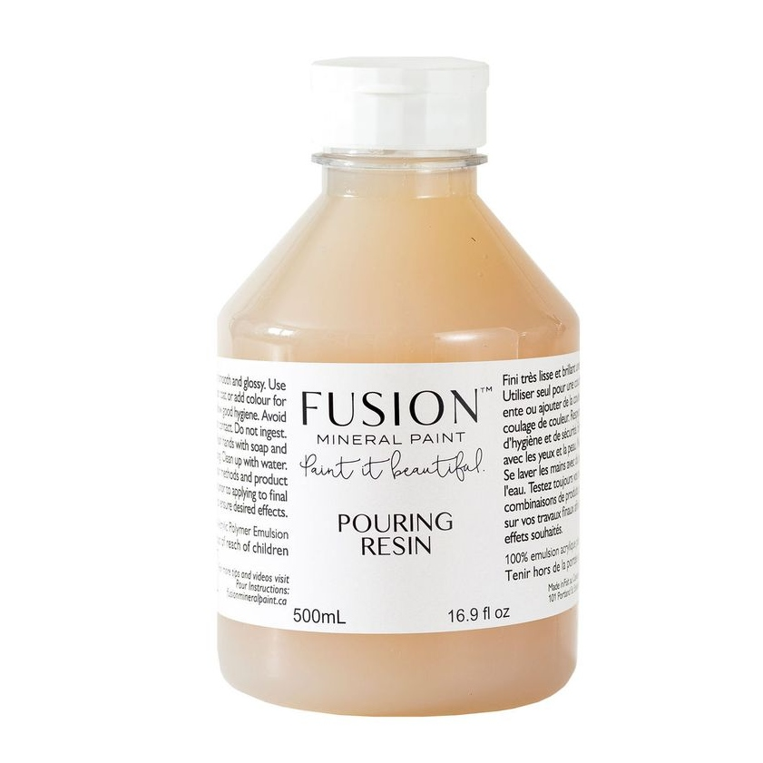 Pouring Resin By Fusion Available At Blue Star Antiques
