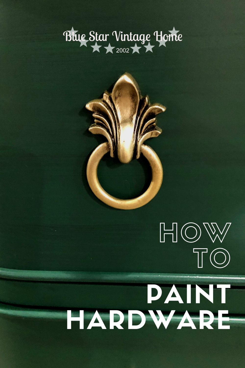 How to paint hardware 2 How to Paint Hardware