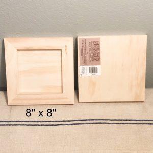 wood panel 8x8