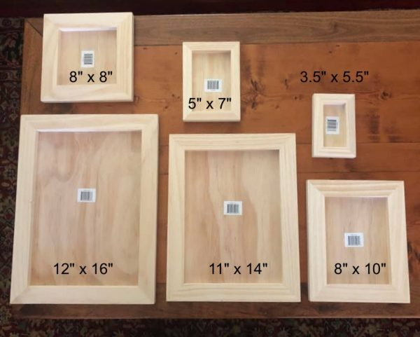 blue star wood panels Wood Gallery Blank Panels