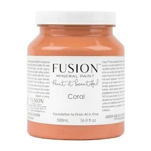 Fusion coral pint