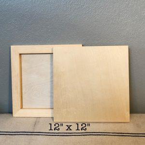 "12"" wood blank"