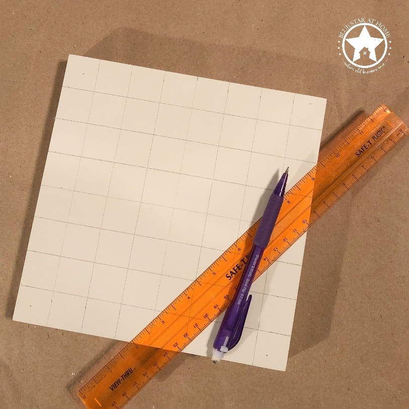 blue star grid Four Easy Steps to Paint a Barn Quilt