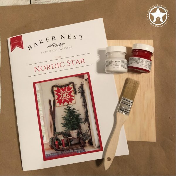 nordic star quilt paint kit