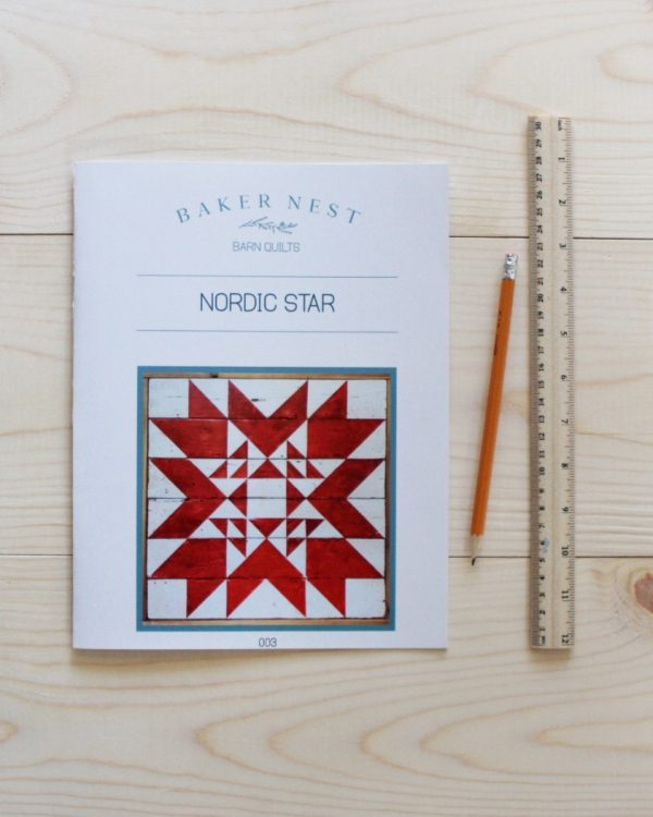 image Nordic Star Barn Quilt Pattern