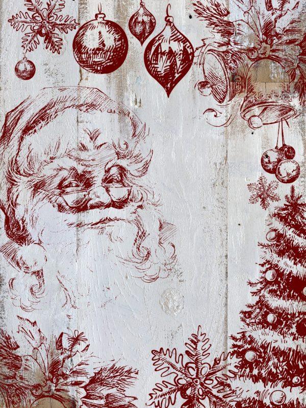 Holly Jolly mockup 1 Holly Jolly Christmas Stamp