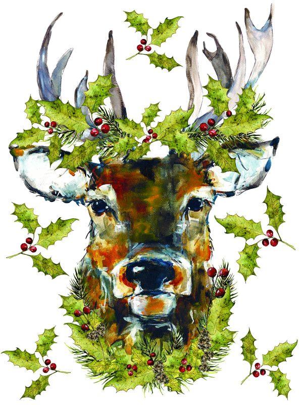 IOD Woodland Christmas 1 Woodland Christmas Transfer