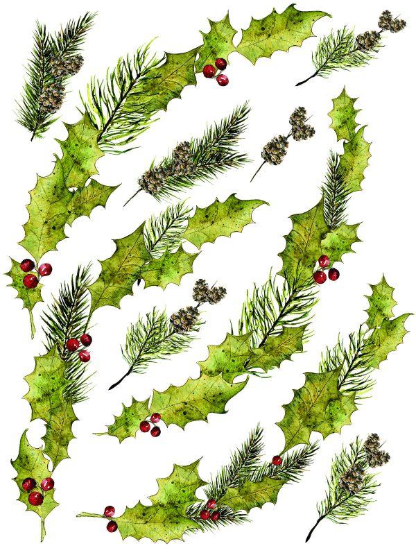 IOD Woodland Christmas 3 Woodland Christmas Transfer