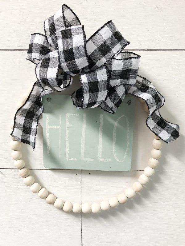 IMG 2849 Bead Wreath Kit