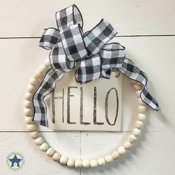 bead wreath kit