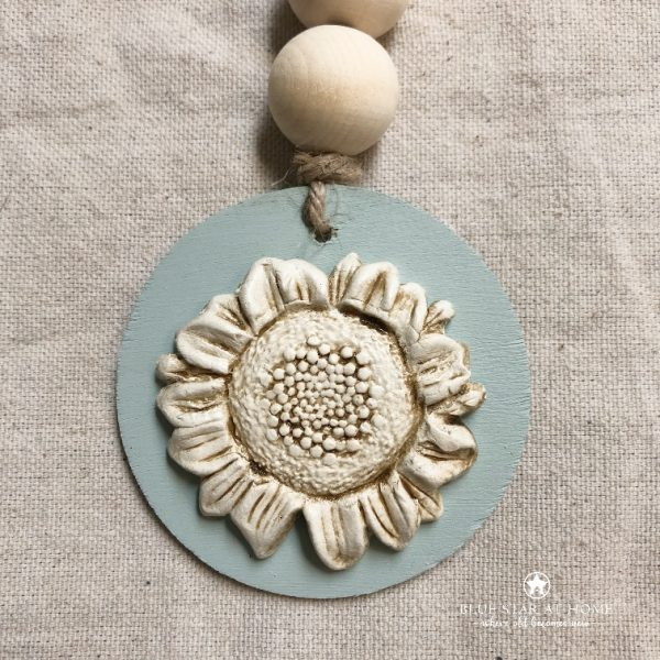 sunflower2 IOD Mould and Clay Gift Set