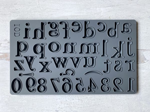 Harper alphabet mould