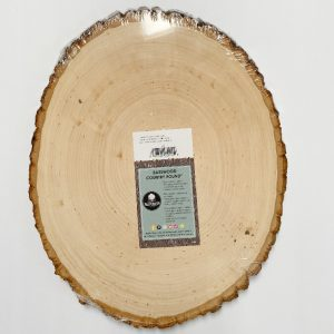 large wood slice
