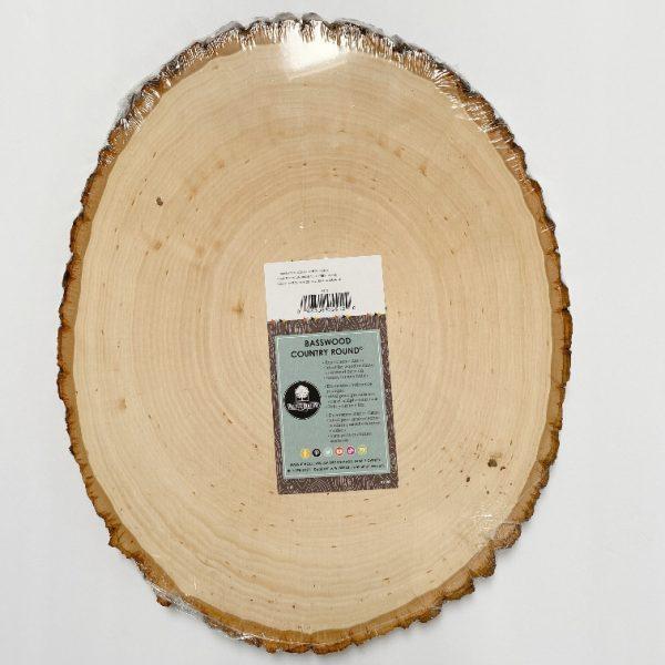 large wood slice