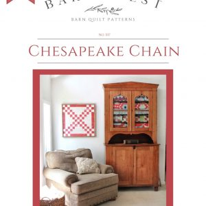 Chesapeake Chain Barn Quilt