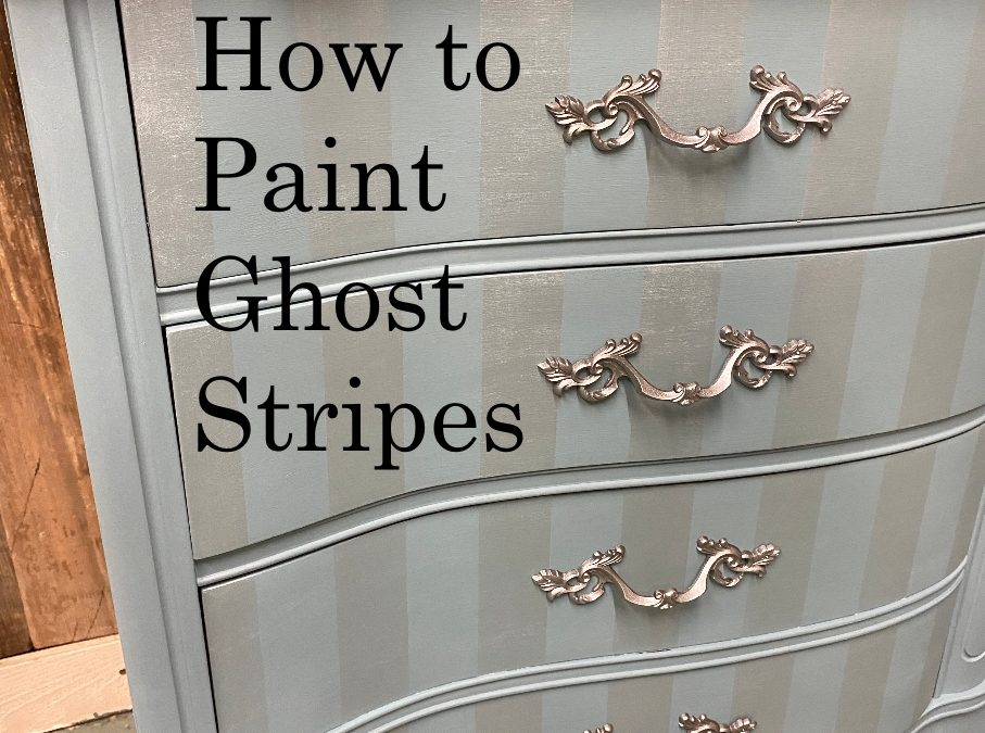 How to Paint Ghost Stripes