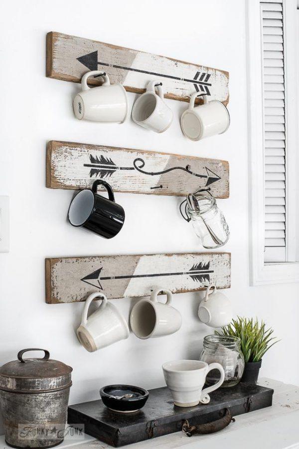 Modernrusticarrowcoffeemughooks Arrow Stencil