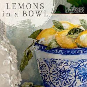 lemons in a bowl kit