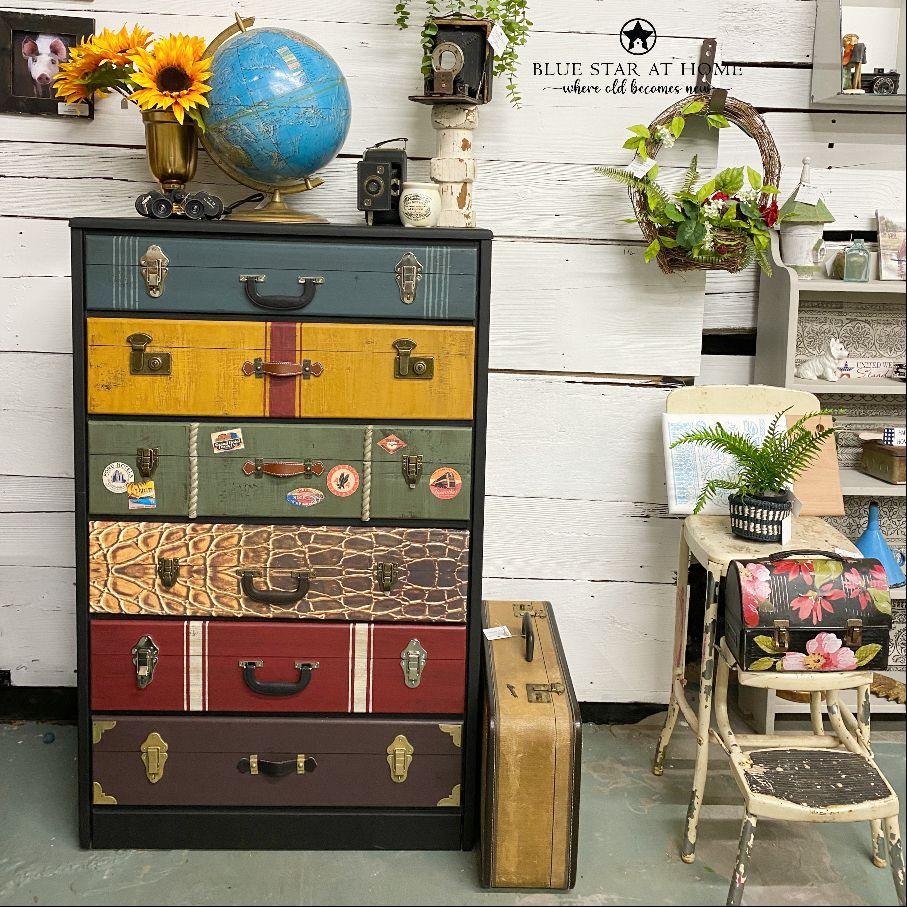 suitcase chest