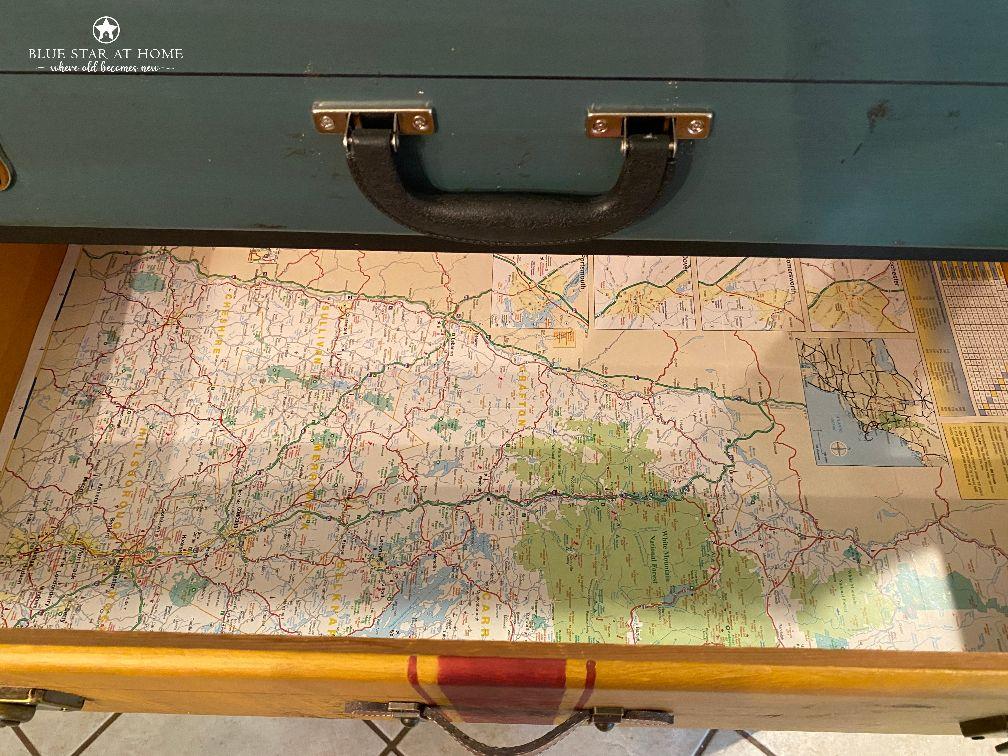 map lining