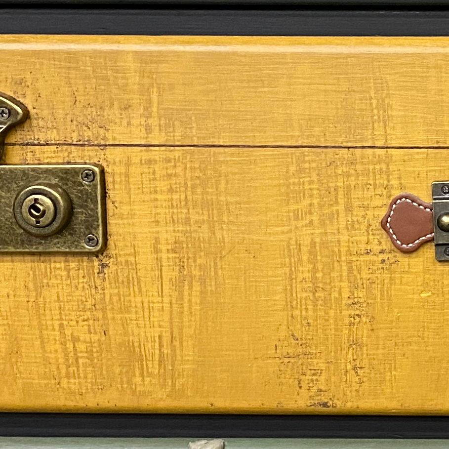 chest sfo wiped DIY a Suitcase Chest